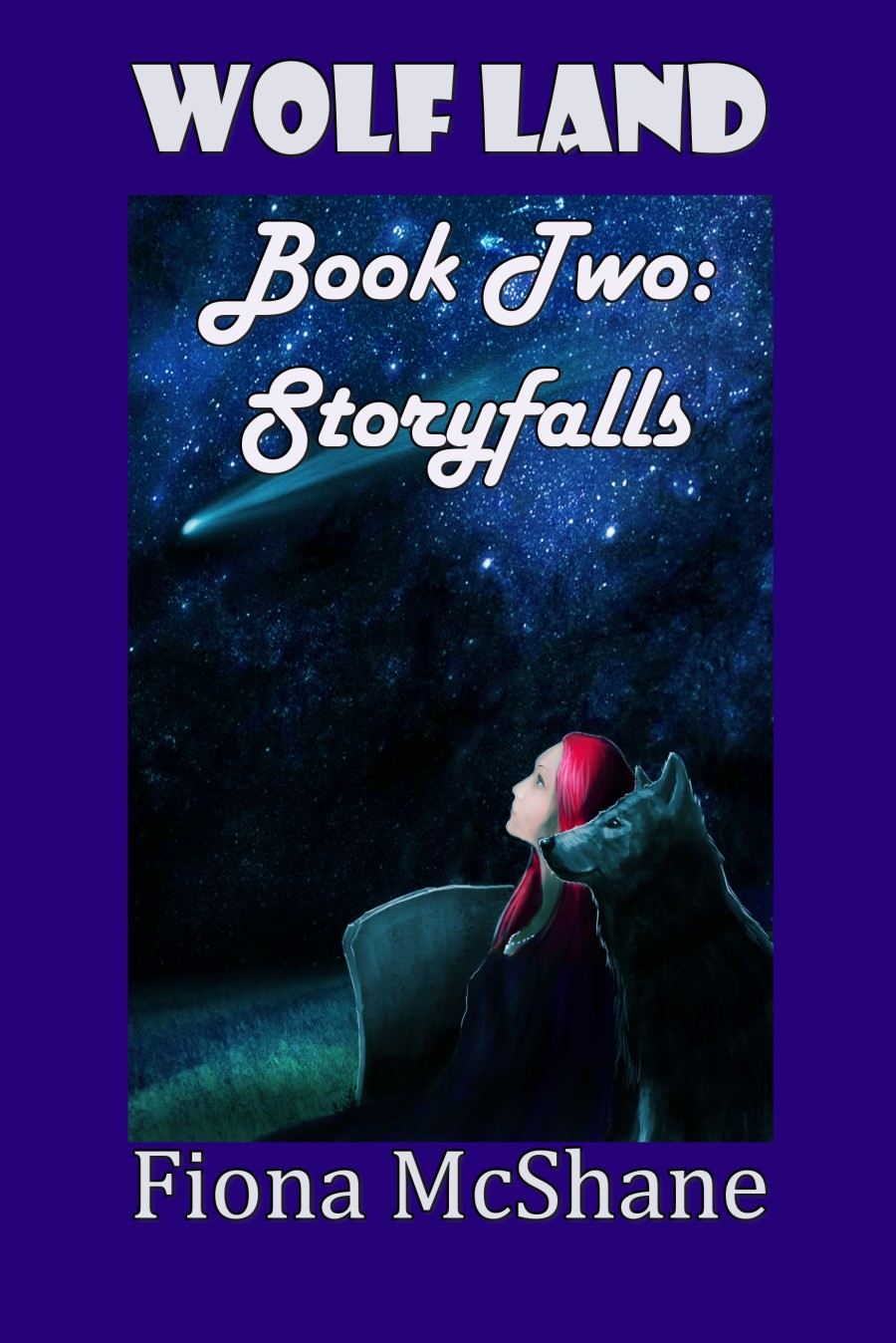 Book Cover for Wolf Land Book Two: Storyfalls